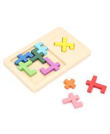 Mi Wooden Reunion Puzzle - 9 pieces