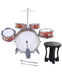 Jazz Drum Set - Red