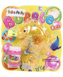 Fish Shape Bubble Gun - Yellow