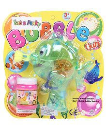 Fish Shape Bubble Gun - Green