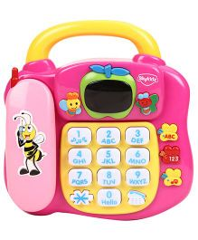 Mitashi Skykidz Learning Phone - Pink