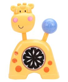 Giraffe Musical Toy - Yellow