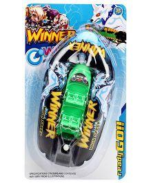 Winner Wind Up Boat - Green
