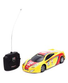 Remote Controlled Car - Yellow Red