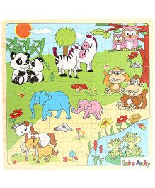 Animal Puzzle Set - Multi Color