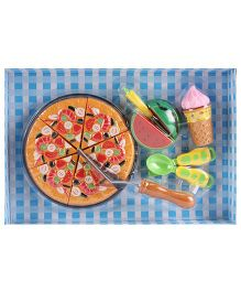 Funny Food Cutting Set Multicolour - 7 Pieces