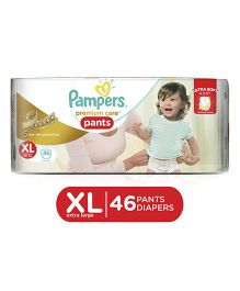 Pampers Premium Care Pant Style Diapers Extra Large - 46 Pieces