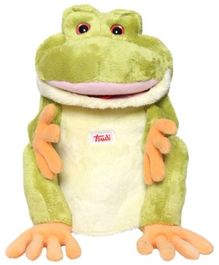 Trudi Frog Puppet Soft Toy