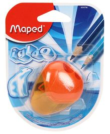 Maped I Gloo Display Sharpener 2H Blister - Orange