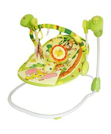 Luv Lap Baby Swing Happy Forest Theme Green - 18166