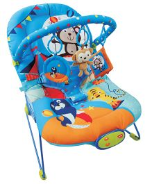 Luv Lap Baby Bouncer Blue - 18169