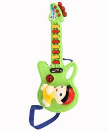 Prasid Electronic Mini Guitar With Strap - Light Green