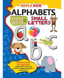 Alphabets Trace & Write Small Letters ABC - English