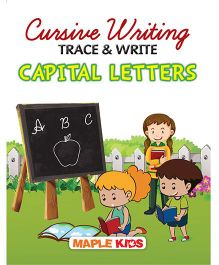 Cursive Writing Trace & Write Capital Letters - English