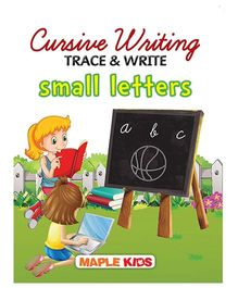 Cursive Writing Trace & Write Small Letters - English