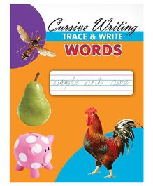 Cursive Writing Trace & Write Words - English