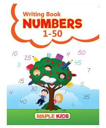 Number Writing 1 to 50 - English
