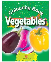 Colouring Books Vegetables - English