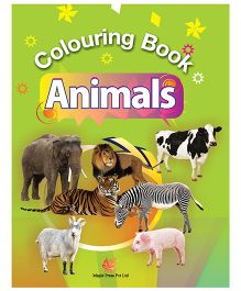Colouring Book Animals - English