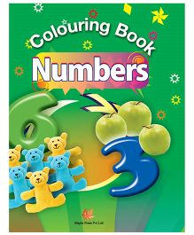 Colouring Book Numbers - English