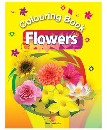 Colouring Book of Flowers - English