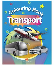 Colouring Book of Transport - English