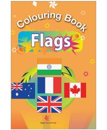 Colouring Book Of Flags - English