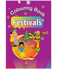 Colouring Book Of Festivals - English