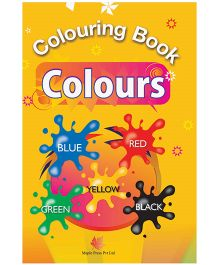 Colouring Book Colours - English