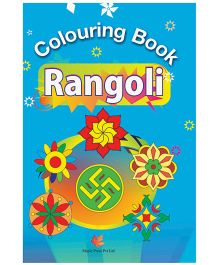 Colouring Book Rangoli - English
