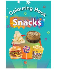 Colouring Books Snacks - English