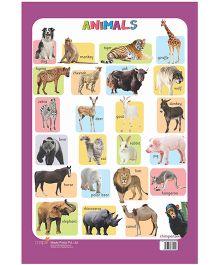 Charts Animals - English
