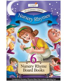 Nursery Rhymes Board Books Set 6 - English