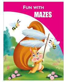 Activity Book Mazes - English