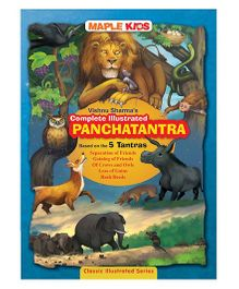 Vishnu Sharma's Complete illustrated Panchatantra 5 Tantras -
