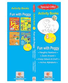 Peggy Activity Books Set Of 4 Books - English