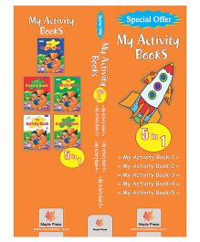 Activity Book Set Of 5 Books - English