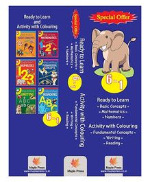 Activity Books Set Of 6 Books - English