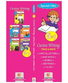 Trace And Write Activity Book Set Of 5 - English