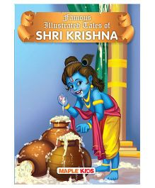 Famous Illustrated Tales of Shri Krishna - English