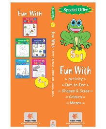 Activity Books Set of 5 books - English