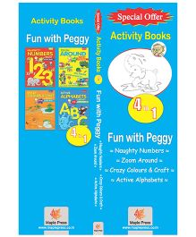 Fun With Peggy Set of 4 Books - English