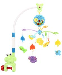 Music Cot Mobile Animal Dangles - Muti Color