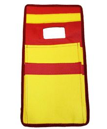 Funkrafts Mobile Holder - Yellow & Maroon