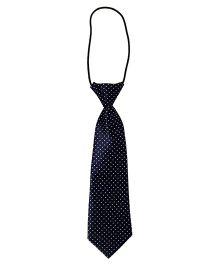 Little Cuddle Dot Prints Tie - Navy Blue