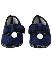 Morisons Baby Dreams Baby Booties - Denim Blue