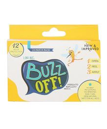 Buzz Off! Mosquito Repellent Patch - Pack Of 24