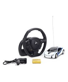 Remote Controlled Super Car - White Black