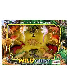 Extinct Species Of Dinosaurs Set - Muti Color