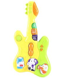 Baby Musical Guitar - Yellow Green